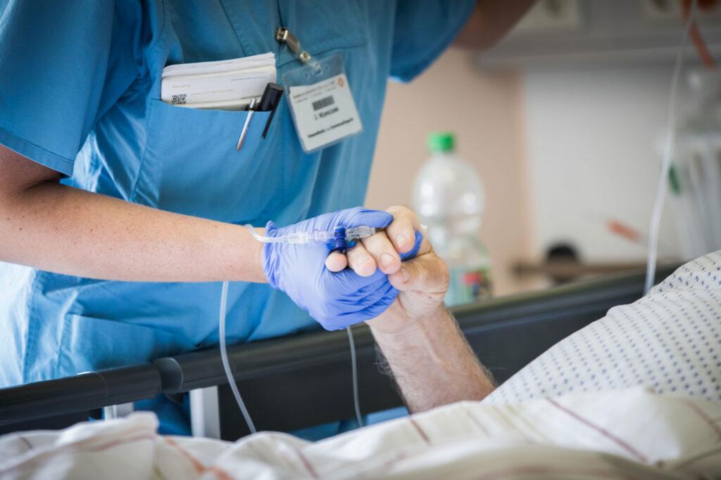 Behandlung auf der Stroke Unit