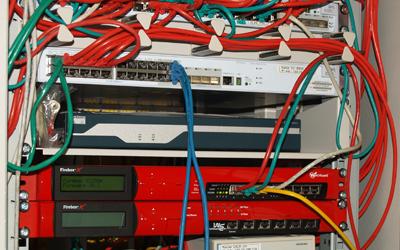 Netzwerk-Verkabelung